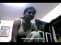 bhabhi changing in her bedroom suddenly her dewar comes inside her room naked