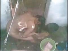 next door indian bhabhi in shower mms