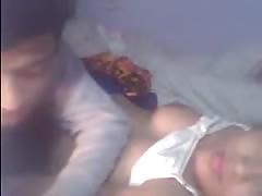 indian amateur couple webcam sex show