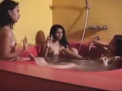 Indian lesbian in bath