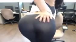 Indian Desi Hot Girl Strip in Office NRI Striptease